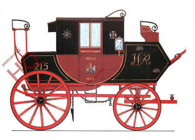 Picture Postcard: National Postal Museum, Mail Coach, 1820S