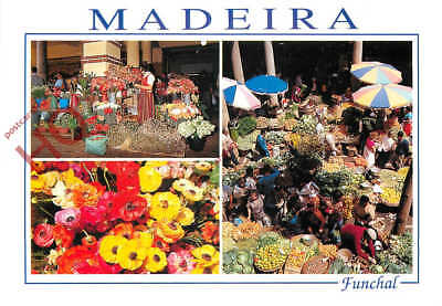 Picture Postcard:-Madeira, Funchal, No Interior Do Mercado, Market