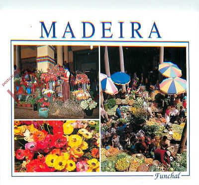 Picture Postcard-:Madeira, Funchal, The Market (Multiview)