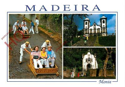 Picture Postcard, Madeira, Monte (Multiview)