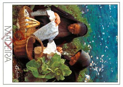 Picture Postcard- Madeira, Embroiderers