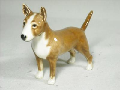Goebel Brown Colored Bull Terrier Dog Statue #30634 W. Germany