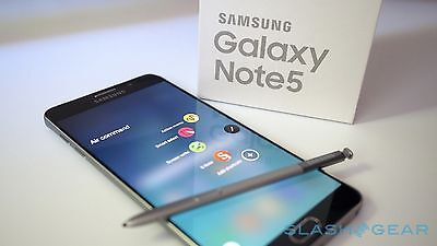 New in Box Samsung Galaxy Note 5 SM-N920T 32GB Blue for T-Mobile