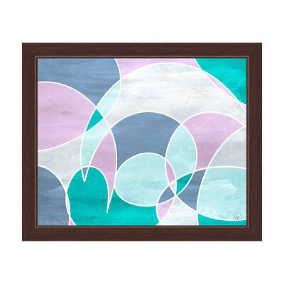 Stained Glass Window Framed Canvas Wall Art