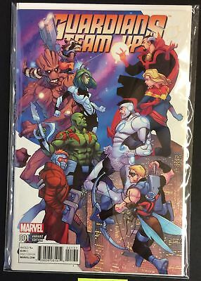 Guardians Team-Up #1 NM+ AVENGERS GUARDIANS OF THE GALAXY FERRY VARIANT Marvel