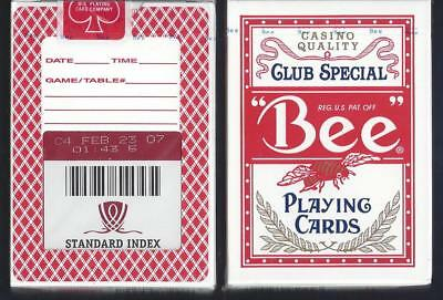 1 DECK Bee Wynn Casino Red Ohio-made playing cards
