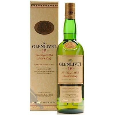 The Glenlivet Pure Single Malt Scotch Whisky Aged 12 Years 70 Cl George Smith's
