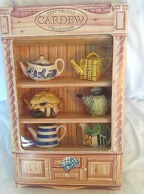 New Cardew Collectable Boxed Rare Novelty Miniature Tiny Teapots Mint Condition
