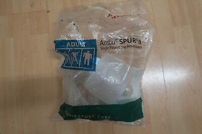 CPR First Aid Disposable Manual Resuscitator BVM Bag Sizes Adult