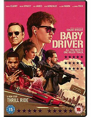 Baby Driver [DVD] [2017] - DVD  NLVG The Cheap Fast Free Post