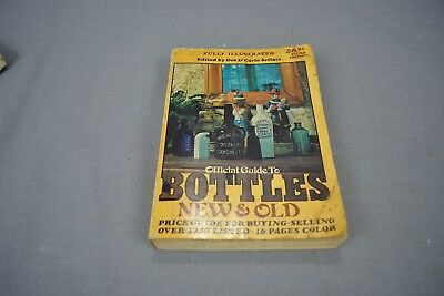 Vtg Book Official Guide to Bottles New & Old Dot & Carlo Sellari Price Guide 3rd