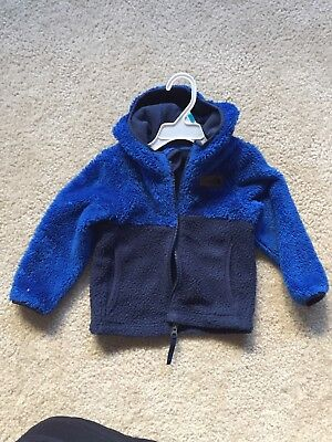 North Face 3T Hooded Jacket Boys Blue