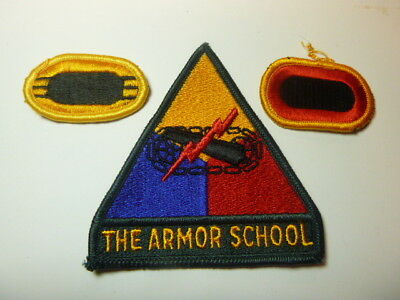 A   Lot of Three U S Army  Merrowed Edge  Patches # 12
