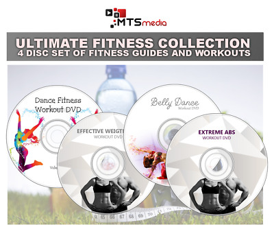 Ultimate Exercise Fitness Collection – 4 Dvd Fat Burning - Abs Dance
