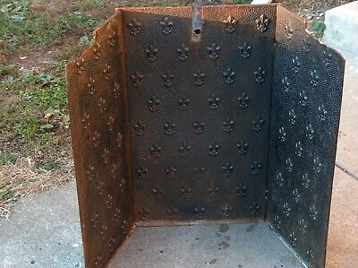 cast iron fireplace liner