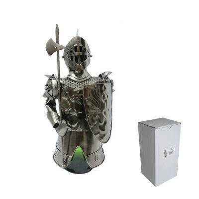 Knight Metal Wine Bottle Holder