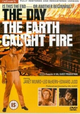 The Day The Earth Caught Fire [1961] [DVD] -  CD VVVG The Fast Free Shipping
