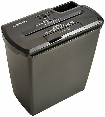 Heavy Duty 8 Sheet Paper Credit Card Shredder Destroy Documents Strip Cut CD DVD