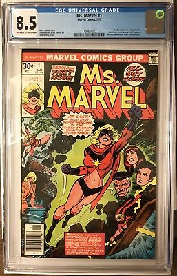 Ms. Marvel 1 CGC Key Issue First Appearance Comic Movie Soon