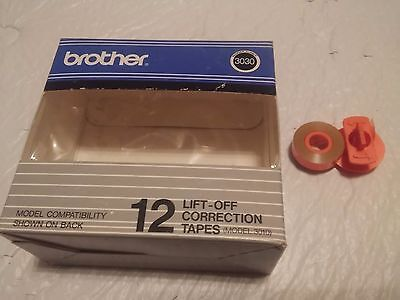 1 BROTHER Typewriter Lift-Off Correction Tape 3030 3010 GX8750 - New & Unused