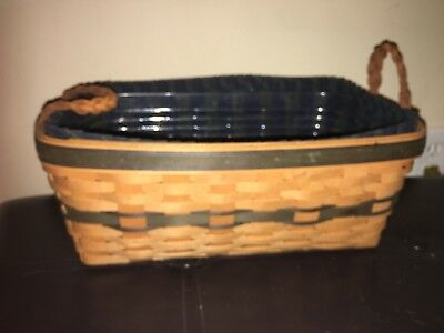 Longaberger's Collectors Club 1997 Welcome Basket Combo Guc