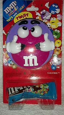 M&M's Minis Purple Twist Me Toy With Rolling Eyes