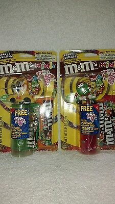 M&M's Mini's Toy and Pogo Dispenser  Lot of 2