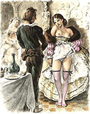1900 Vintage Erotic Art Images   On Cd (A17)