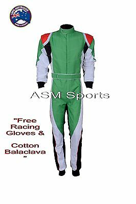 Go Kart Race Suit New With Free Gifts