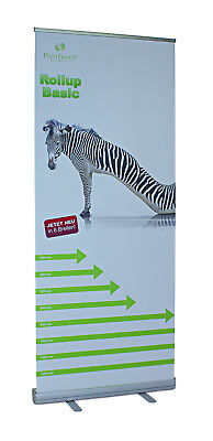 Every Day Kracher - RollUp Display 120x200cm = statt 59,95 nur 14,99 - 75%!
