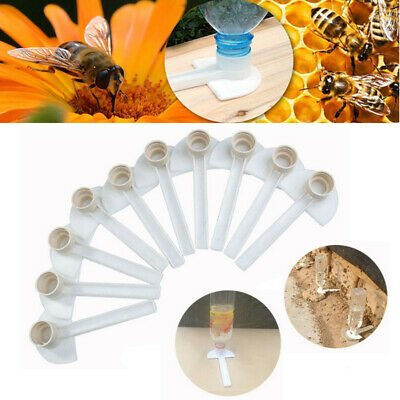 10pcs Beekeeping Honey Entrance Feeder Hive Tool Beekeeper Bee Keeping Equipment