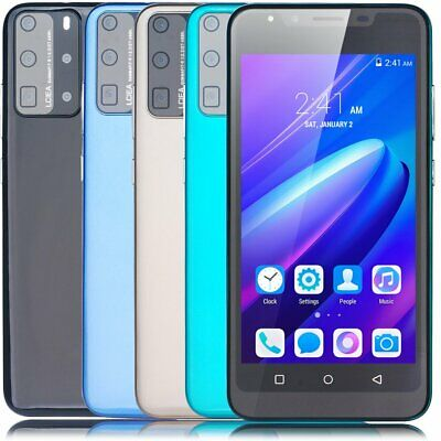"""5.5"""" Unlocked Android 8.0 Dual SIM Quad Core 3G Mobile Phone Smartphone Cheap UK"""