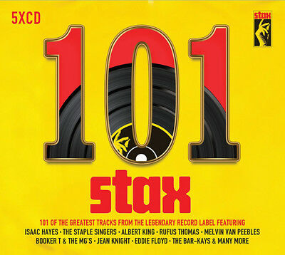 Various Artists : 101 Stax Records CD (2017) ***NEW***