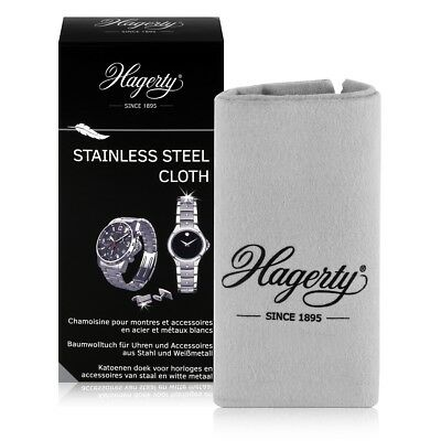 Hagerty Stainless Steel Cloth - Baumwolltuch für Uhren 36x30cm (1er Pack)
