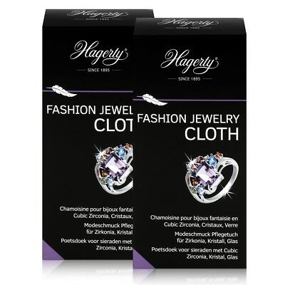 Hagerty Fashion Jewelry Cloth - Modeschmuck Pflegetuch 36x30cm (2er Pack)