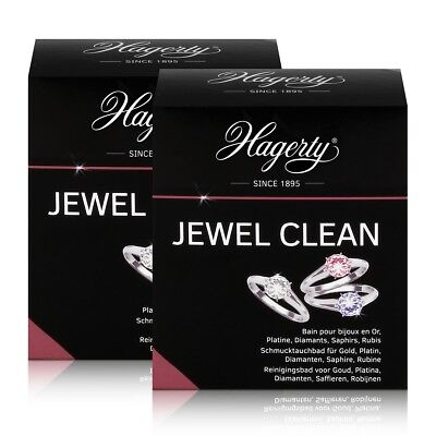 Hagerty Jewel Clean - Schmucktauchbad für Gold, Diamanten 170ml (2er Pack)
