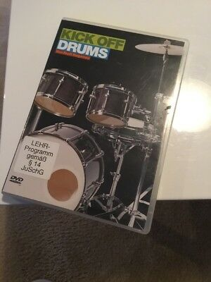 KICK OFF DRUMS VON RUDI HAGENAU 2DVDs