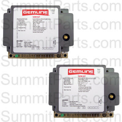 2Pk-24V Ignitor Box Replaces Synetek Ds3-A, Adc 880815, 882627, 128937 - Gem-627