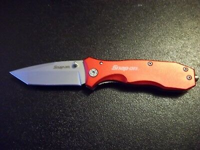 Snap-On Tools New Liner Lock Lock Blade Hunting Bowie Camping Knife