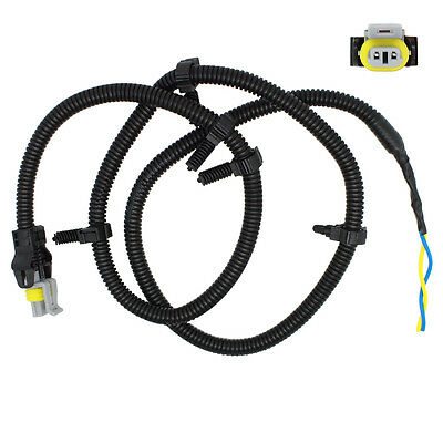 Wire Harness Pigtail Plug for ABS Wheel Speed 2x new multifit abs wheel speed sensor wire harness plug pigtail GM Wiring Harness Connectors at bayanpartner.co