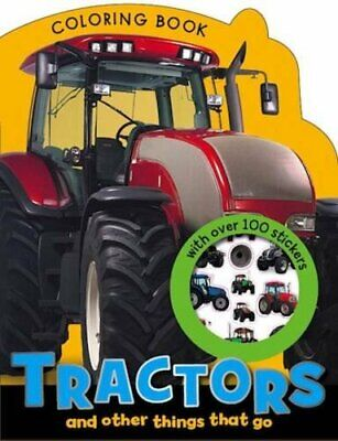 Tractors and other Things that Go Colouring Book (Boy and ... by Morrison, Karen
