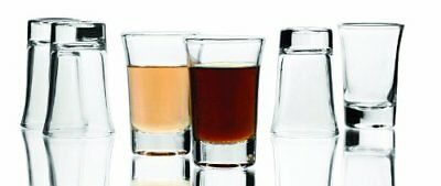 Circle Glass Urban Collection Shot Glasses (set of 6)