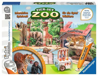 Tiptoi - Tier-Set Zoo Spielset