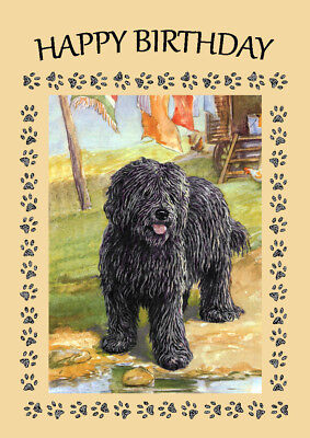 Hungarian Puli Beanie Hat  Perfect Gift Embroidered by Dogmania