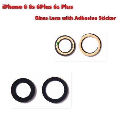 iPhone 6/6S/6 Plus/6S Plus Rear Camera Glass Lens with Adhesive Sticker