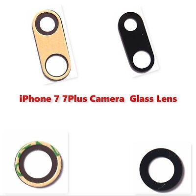 iPhone 7 7 Plus Rear Camera Glass Lens with Adhesive Sticker Replacement