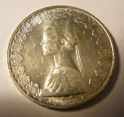 Italy 1958 & 1965 Silver 500 Lire Coins