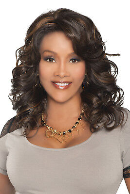 Goldie-V - Vivica A Fox Synthetic Futura Deep Lace Front Wig Loose Spiral Curl