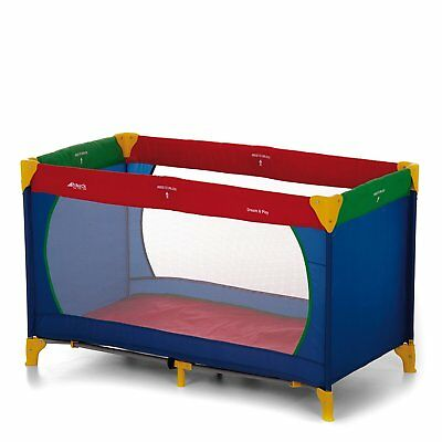 Hauck Dream N Play Travel Cot - Multi-coloured,100 x 70 cm Approx