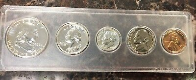 1962 Us Mint Proof Set In Whitman Holder ~ 90% Silver 5 Coin Set